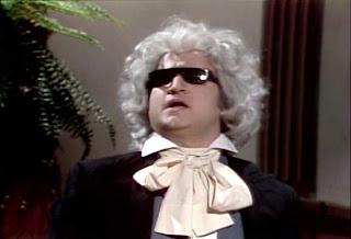 John Belushi as Ludwig van Beethoven