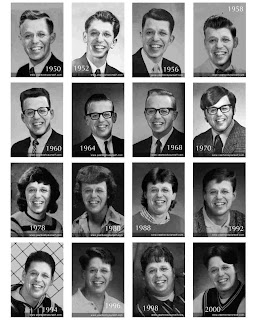 David's Yearbook Photos - 1950 through 2000