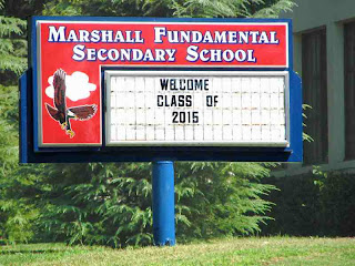 Welcome Class of 2015 - Marshall Fundamental School - Pasadena CA