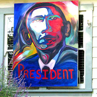 Obama President Painting