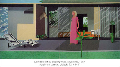 Hockney Beverly Hills Housewife Betty Freeman