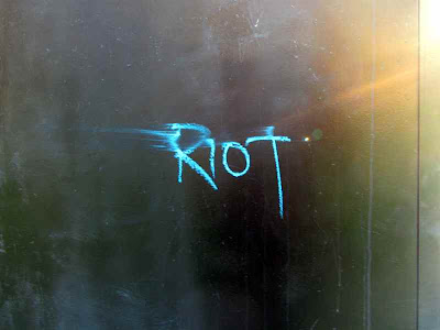 Riot graffiti