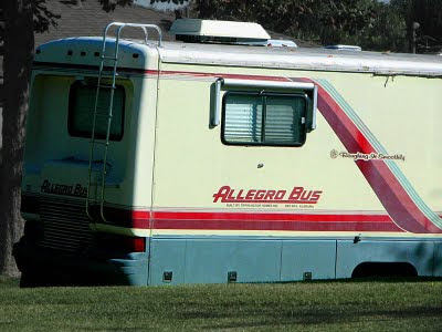Musical Signs - Allegro Bus built by Tiffin Motor Homes, Red Bay Alabama