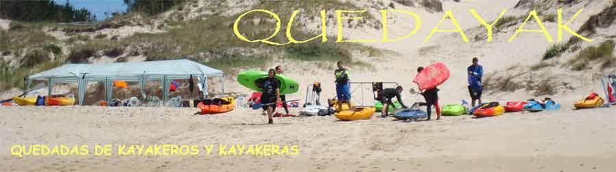 Quedada de kayakeros y kayakeras