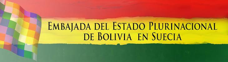 Embajada de Bolivia en Suecia
