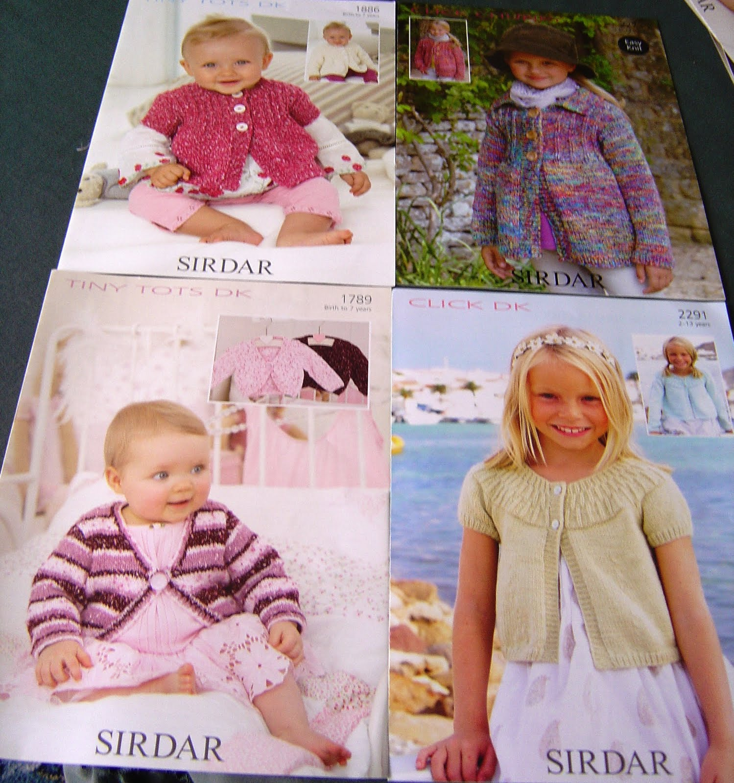 Old Sirdar Knitting Patterns : Enthusiastic crochetoholic: 8 Sirdar Knitting Patterns