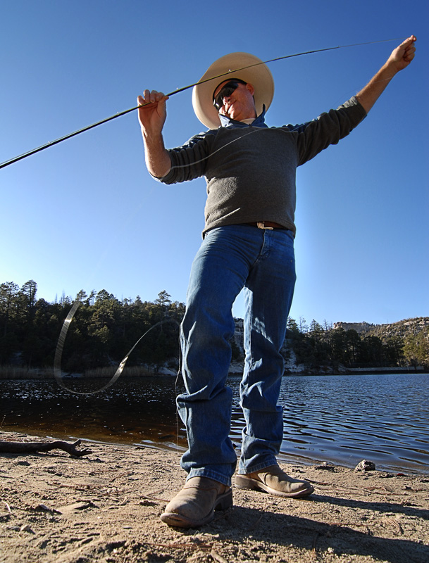 Fat guy fly fishing healing waters musters at rose canyon for Ascent fly fishing