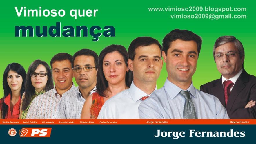Autárquicas Vimioso 2009