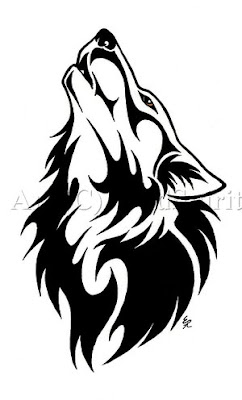 Dangerous Wolf Tattoo Art for Teenage Boys 2011