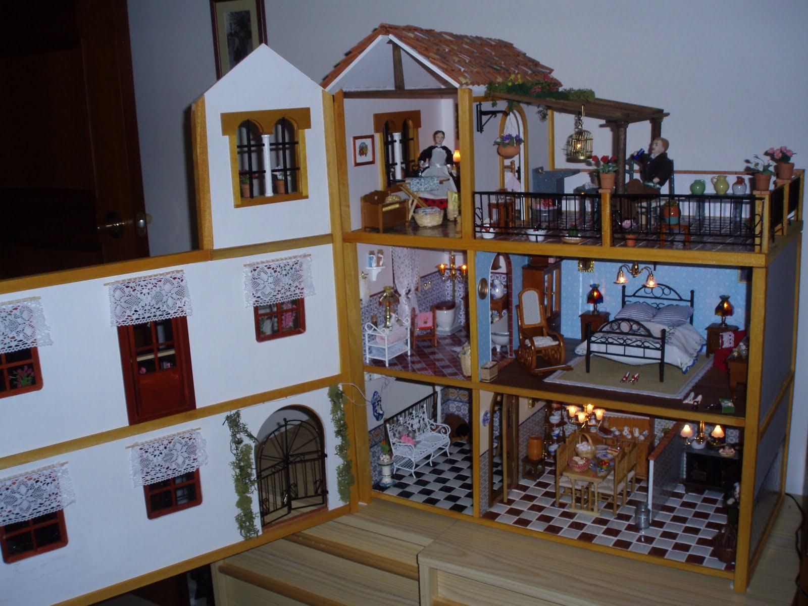 Lola y sus miniaturas casa andaluza villa triana for Casa andaluza