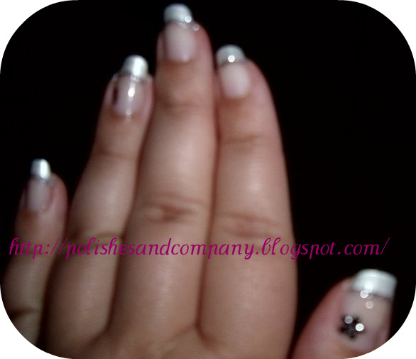 Polishes And Company Pearly White French