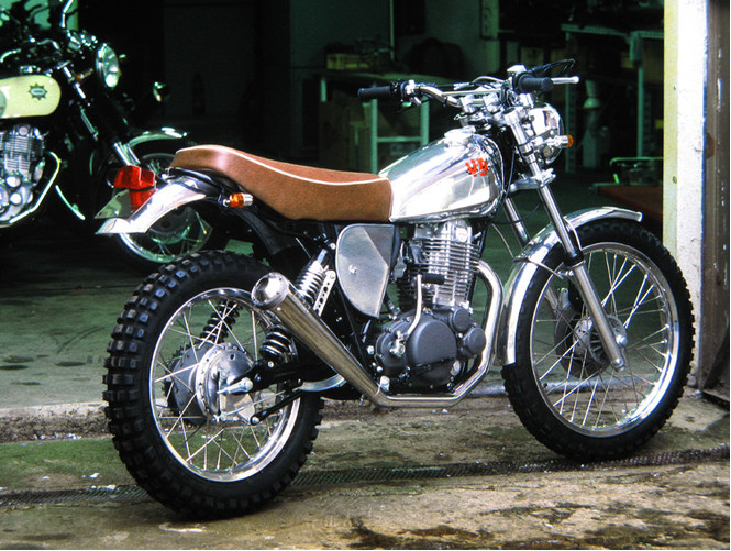 Nopossum xt500 scrambler design for Bj custom designs