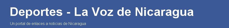Deportes - La Voz de Nicaragua