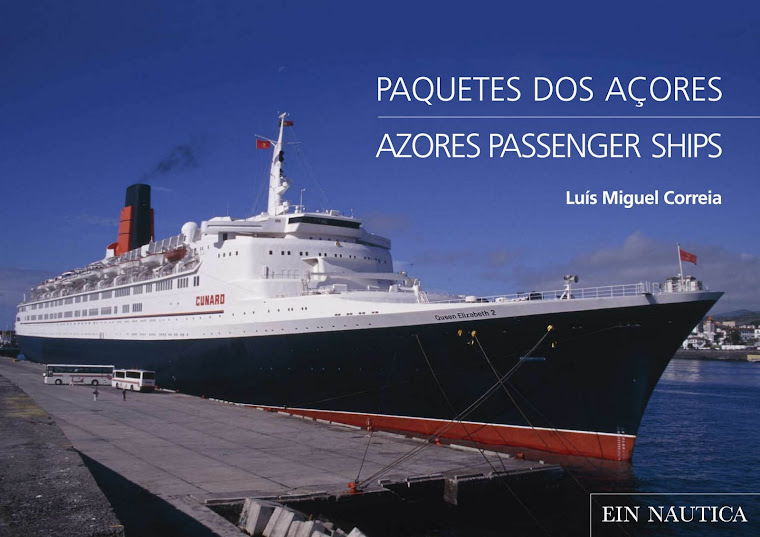 PAQUETES DOS AÇORES - AZORES PASSENGER SHIPS
