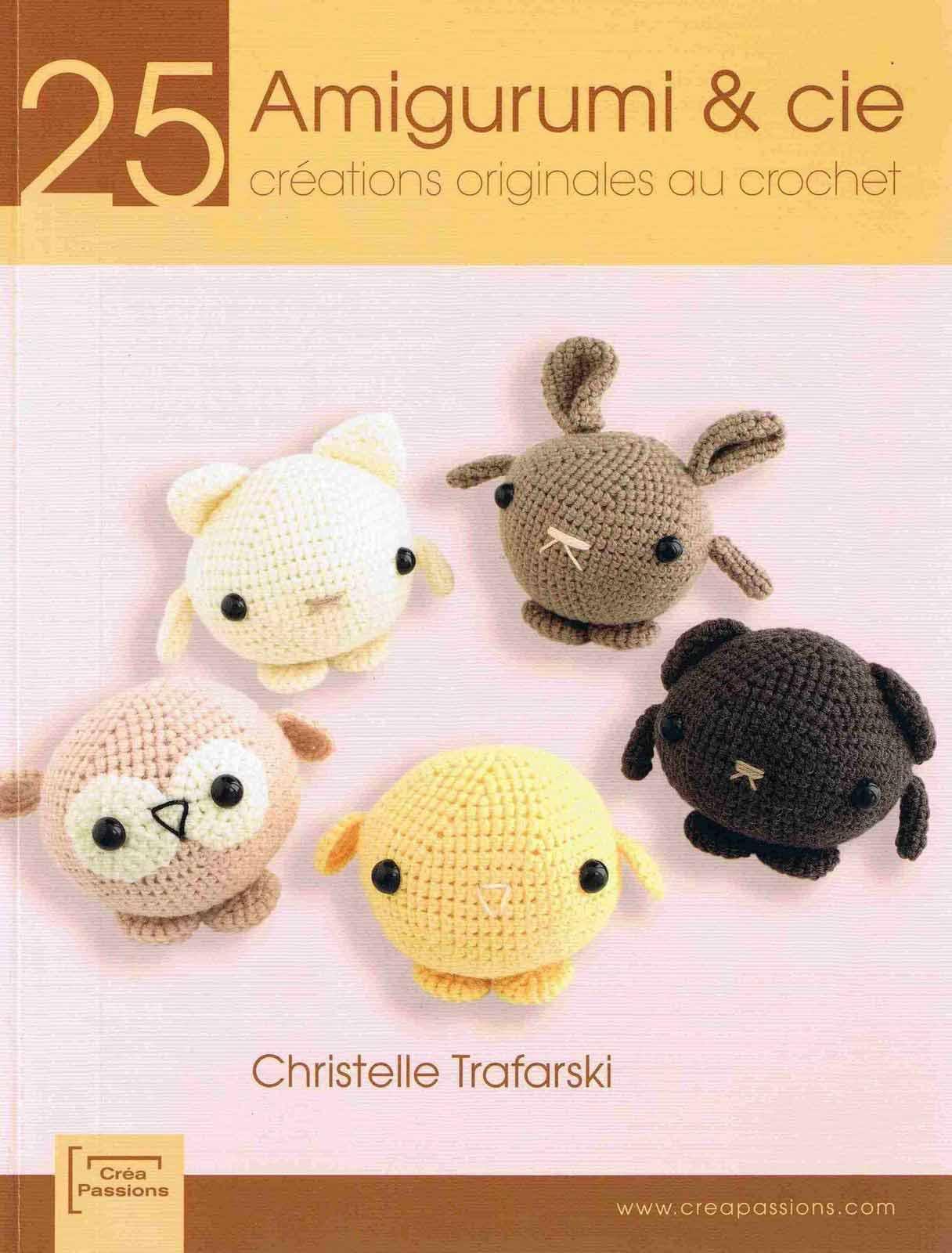 Revistas de crochet: 25 amigurumi & cie