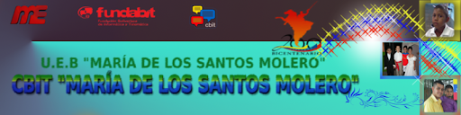 """CBIT """"María de los Santos Molero"""""""