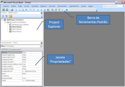 Editor do Visual Basic - Excel