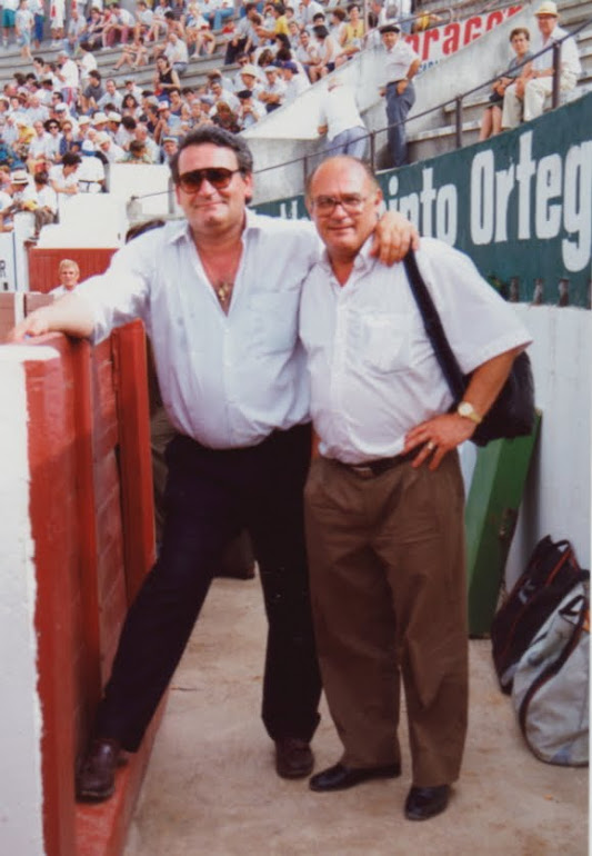 Con Pedro Iturralde