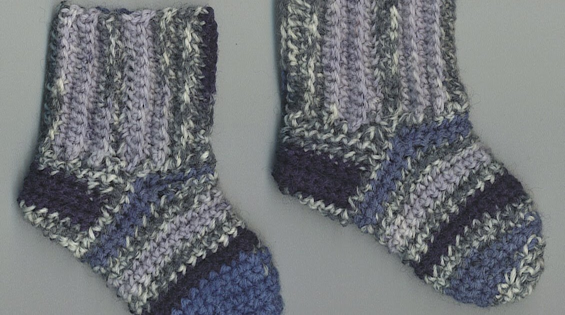 Free Knitting Patterns For Leftover Sock Yarn : Treasures Made From Yarn: Ran Out of Sock Yarn for Baby Socks.