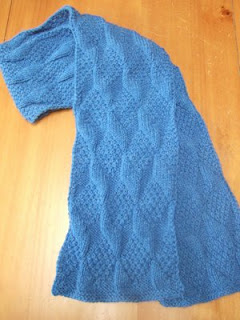 Reversible Scarf Free Knitting Pattern from the Scarves Free Knitting
