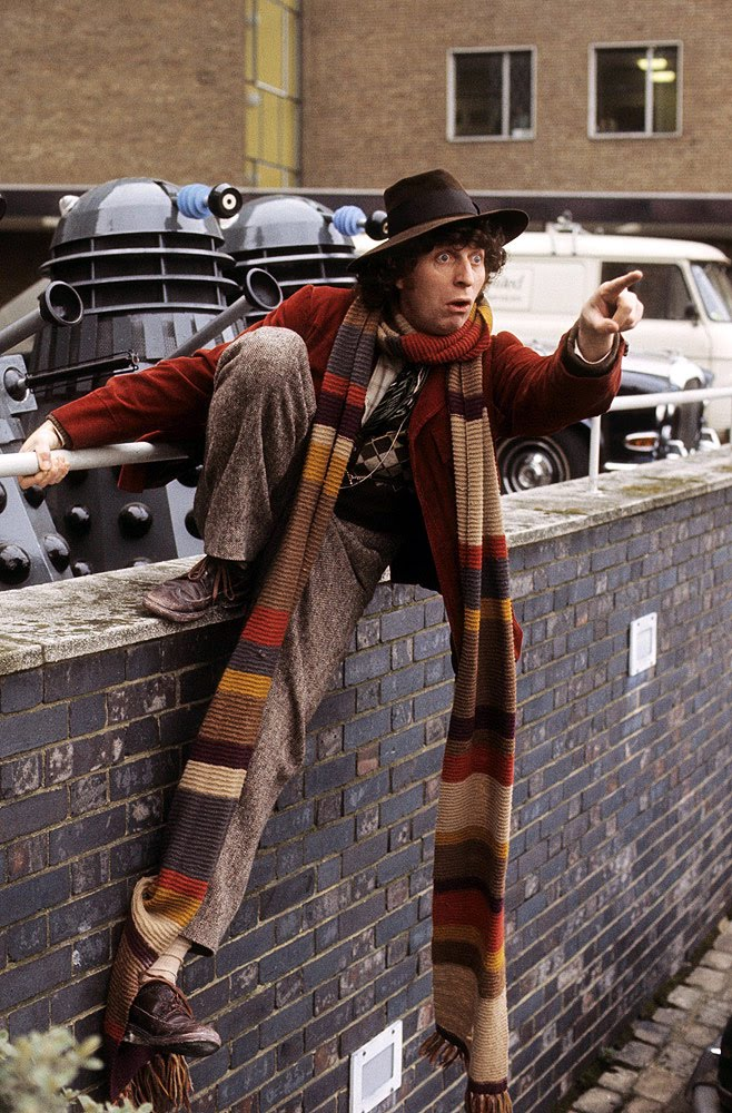 Tom Baker Scarf Knitting Pattern : Doctor Who Scarf on Pinterest Doctor Who Knitting, Doctor Who and Dr Who