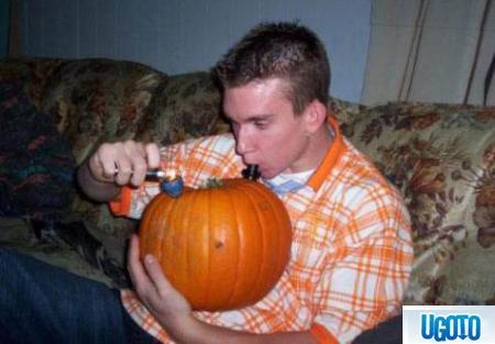 How to make a Pumpkin Bong Pumpkin-bong-c50