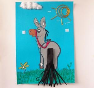 Feliz cumplea os ehh qu el burro no tiene cola for Como decorar un buro