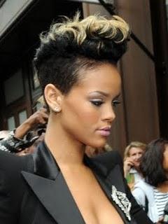 Strange Female Mohawk Hairstyles Short Hairstyles For Black Women Fulllsitofus