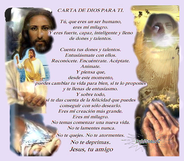 CARTA DE JESUS PARA TI
