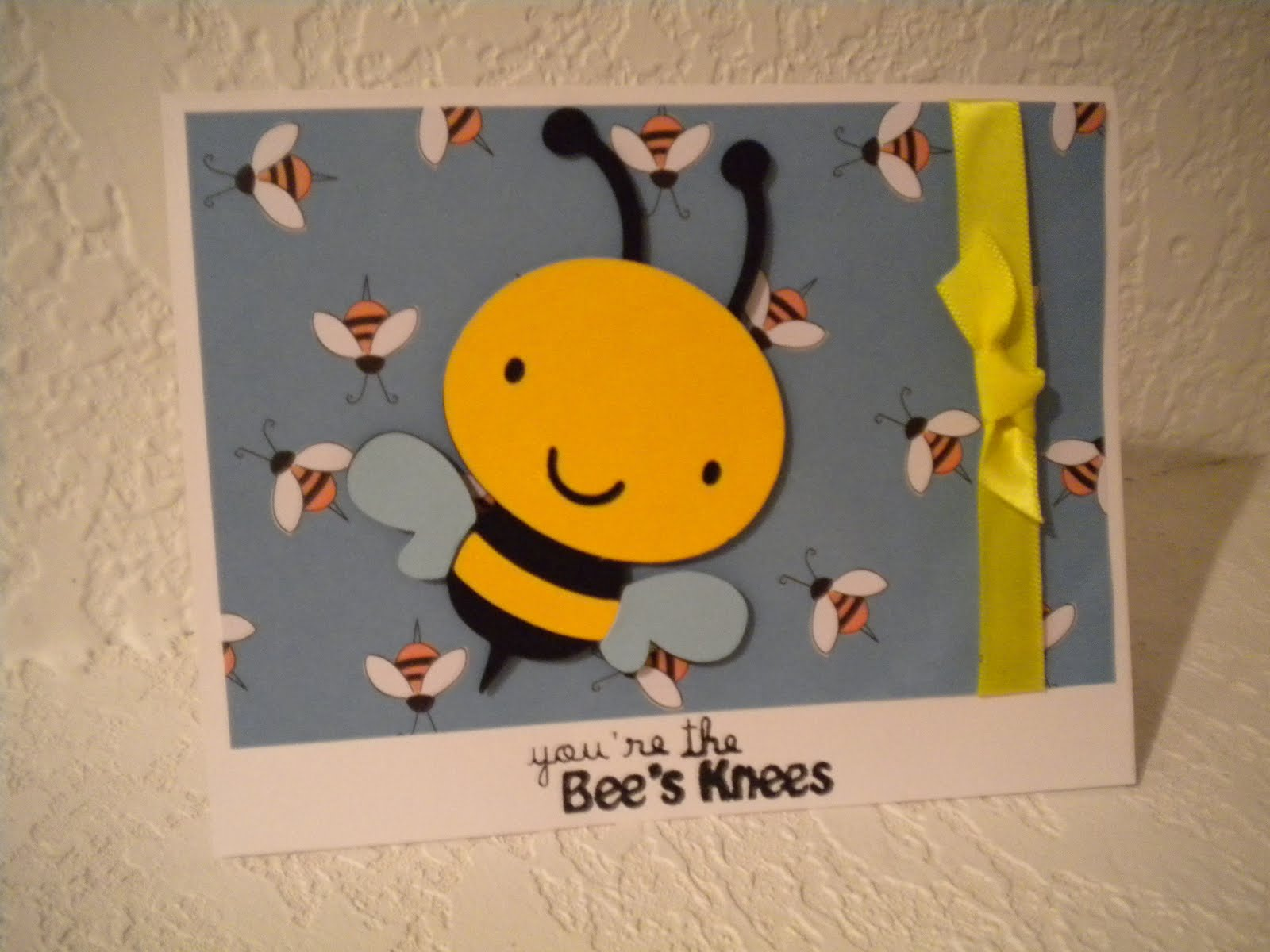 """Bees Knees Real I cut the bee at 3 1/2"""" and"""