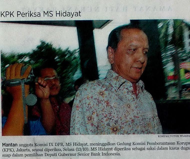 Korupsi Golkar Hidayat & Ratu Atut