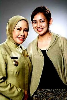 Duet Maling Tangerang Selatan Airin Rachmi Dinay dan Ratu Atut