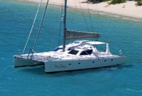 Charter catamaran YES DEAR with Paradise Connections Yacht Charters