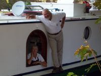 Liz & Rene of French Canal Hotel Barge EMMA - Contact ParadiseConnections.com