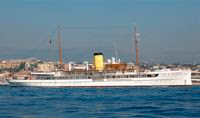 Charter the SteamShip DELPHINE in the Mediterranean with Paradise Connections Yacht Charters