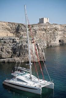 Charter Catamaran BELLA PRINCIPESSA with ParadiseConnections.com