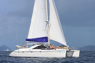 Charter Catamaran AMARYLLIS in the Virgin Islands with ParadiseConnections.com