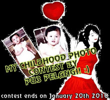 My Childhood Photo Contest by Pu3 Pelangi!