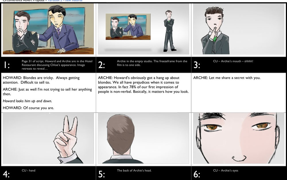 Projector Films new ideas for film makers Free storyboard – Free Storyboard Templates