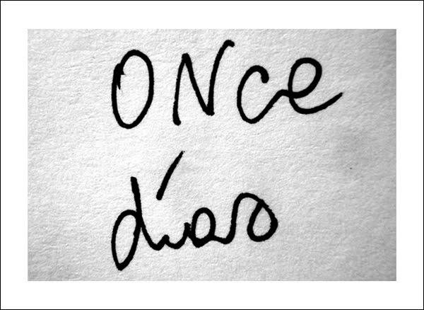 once días
