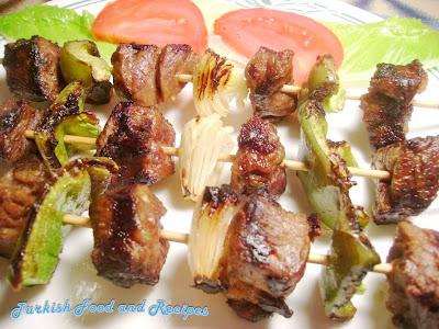 Shish Kebab in The Oven Shish Kebab Sis Kebap