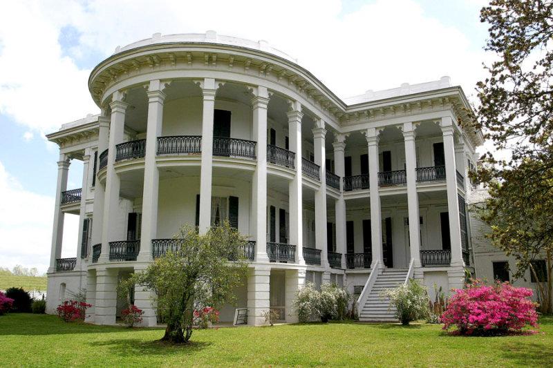 Arlington plantation 1850 franklin louisiana southern for Southern homes louisiana