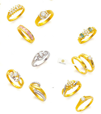 Tanishq+jewellery+rings