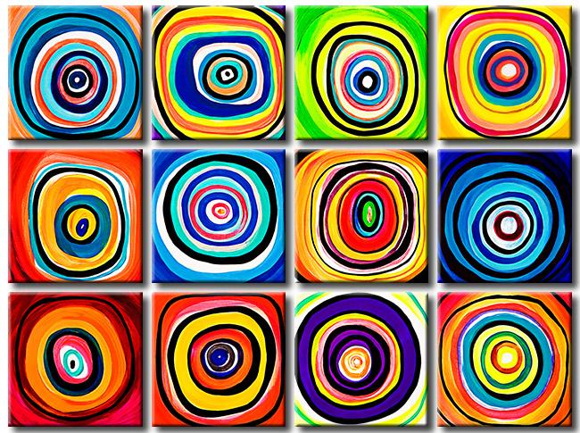 Se necesitan 5 tizas de colores diferentes, Rojo, Azul, Verde ...