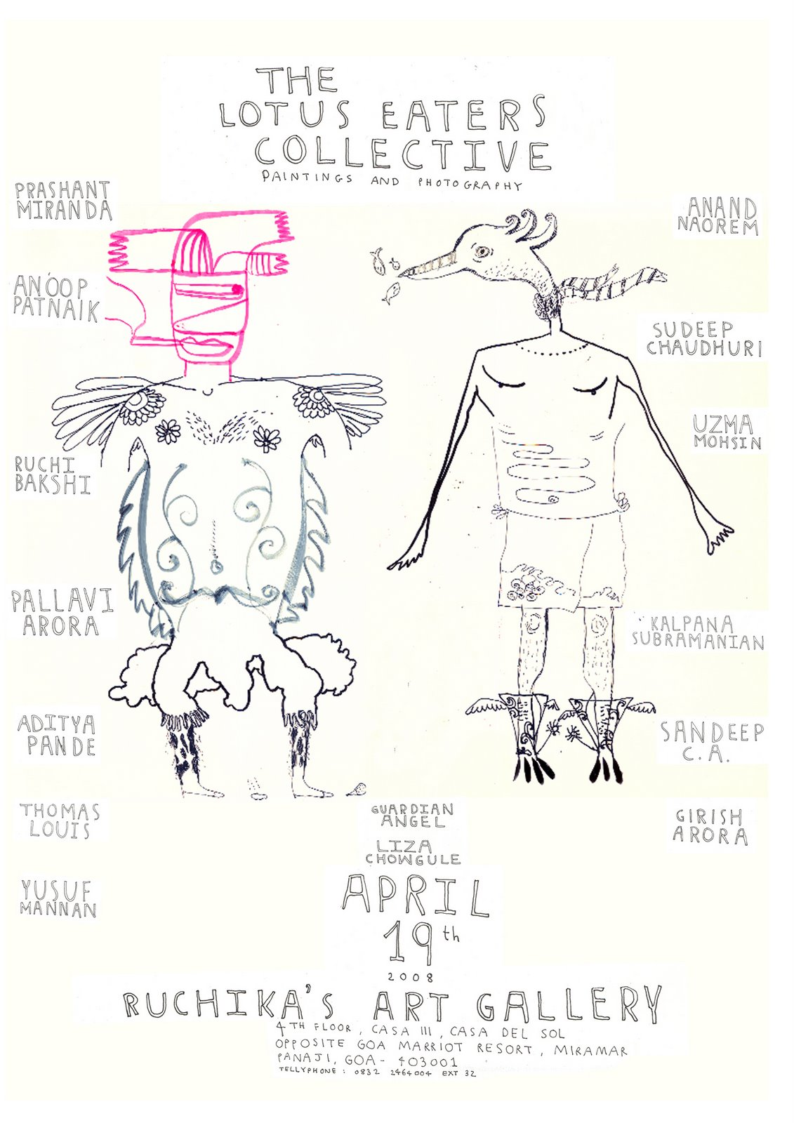 goa show - april 2008