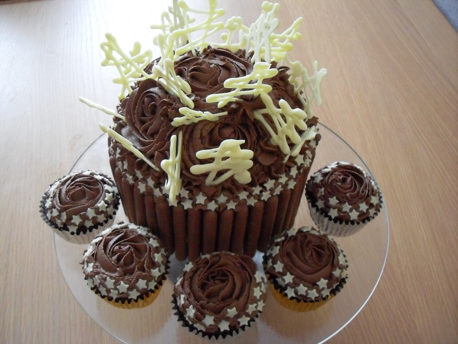 ... in Furness and the Lake District, Cumbria: Giant Chocolate Cupcake