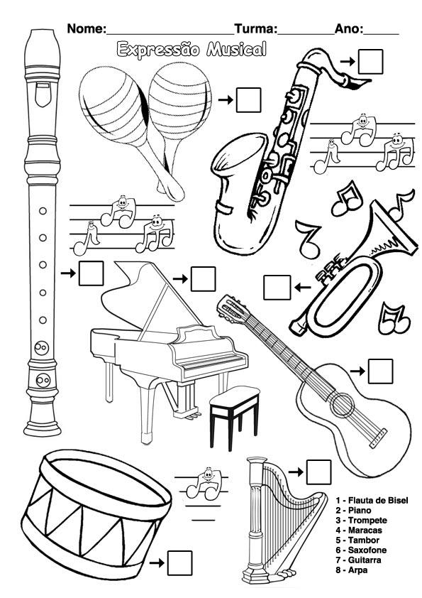o blog da express u00e3o musical 2011    2012  desenhos para colorir