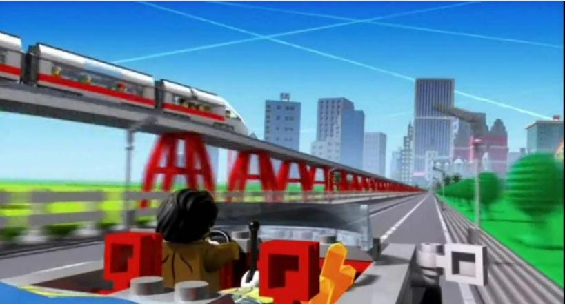 Straker enemy scie nei cartoni animati della lego