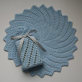 Knitted Awareness Ribbon Soap Sack - Knitting Knonsense Home Page