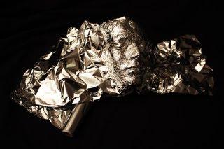 Dominic Wilcox tin foil